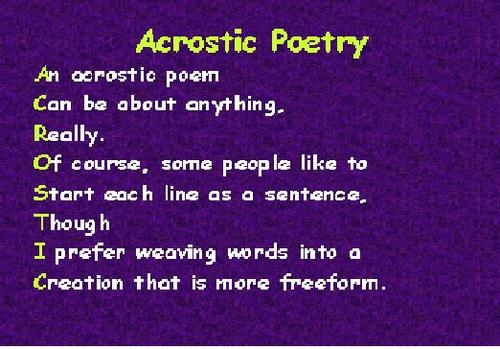 Types of poetry - ESL Resources