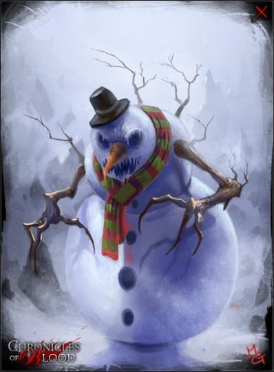 Frosty the Killer Snowman, a poem by blackened soul. poets love ...