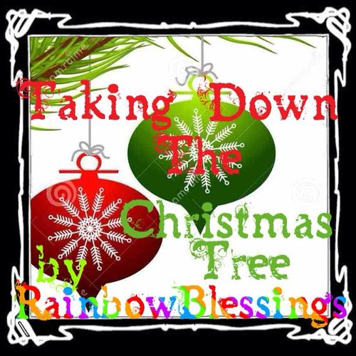 Poem About A Christmas Tree: Taking Down The Christmas Tree