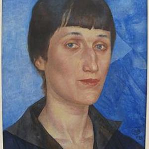 Anna Akhmatova crucifix