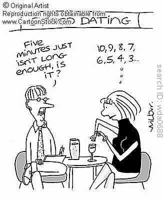 6 min speed dating — 3