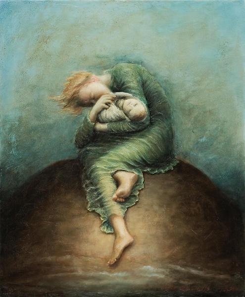 """Poem contest """"No Hope"""" Painting by Terje Adler Mork - Poem ..."""