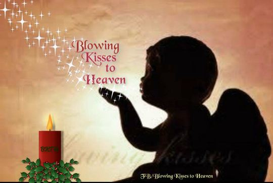 Blowing My Kisses To You In Heaven A Poem By Hereinmyheart All