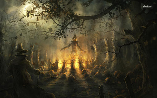 That Scary Ole Scarecrow - a poem by Butterfly kiss - All Poetry