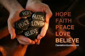 Trust hope faith love Poems - Modern Award-winning Trust