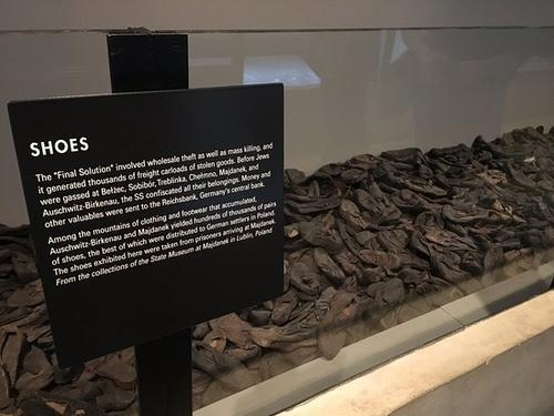 The shoes of the Holocaust , a poem by tatted,n,torn