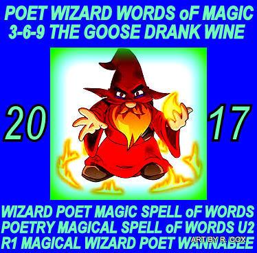 Goblin HOG-n-DOG a POET WIZARD Words oF Magic , YOU want