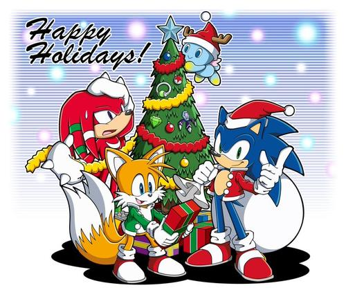 sonic characters sing episode 5 all i really want for christmas all cast parody - All I Want For Christmas Cast