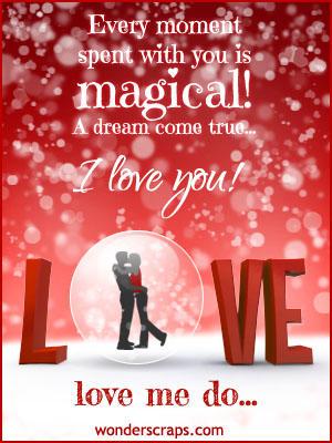 You are my dream come true poem