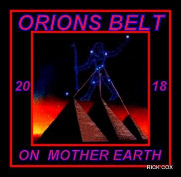 The 3 Pyramids are Orion Belt laid out on MOTHER EARTH
