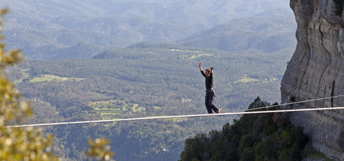 Like To Walk The Tightrope - a poem by Poeta de Cabra - All Poetry