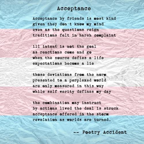 Transgender Poems - Modern Award-winning Transgender Poetry