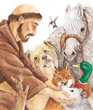 Picture Love on St  Francis Of Assisi By Maureen   All Poetry