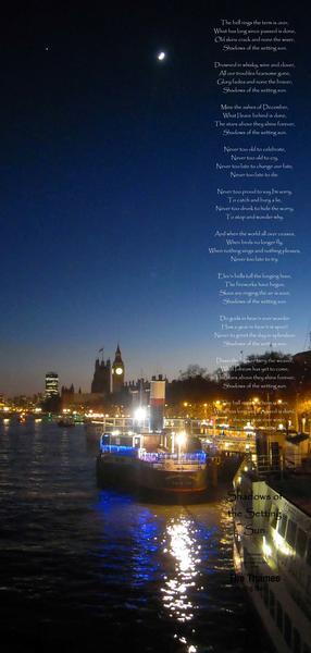 Shadows of a Setting Sun - a poem by Barddylbach - All Poetry