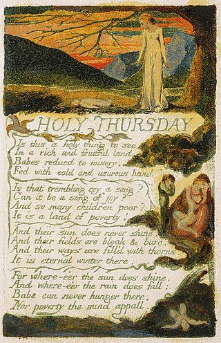 Holy Thursday Experience By William Blake Famous Poems