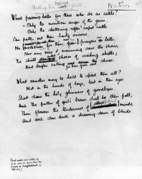 Anthem For Doomed Youth By Wilfred Owen Famous Poems